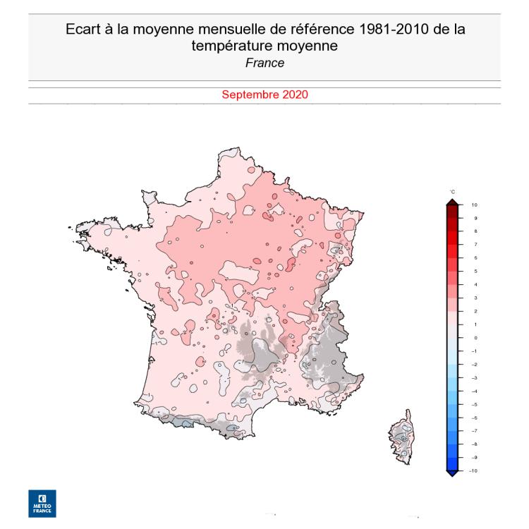 Septembre 2020 : un mois très contrasté | Météo-France